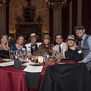 Grand Rapids Murder Mystery party guests at the table